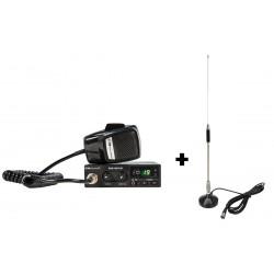 Emisora Midland Alan 100 Plus + Antena Base Magnética