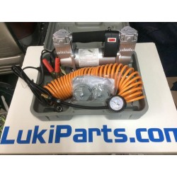 Compresor 12V 150Litros + Maletín y accesorios