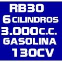 RB30 6 CILINDROS 3.000 GASOLINA 130CV