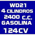 2.4i WD21 GASOLINA (1986-1993)