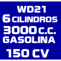 3.0I V6 WD21 GASOLINA (1987-1995)