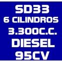 SD33 6 CILINDROS 3.300CC DIESEL 95CV