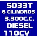 SD33T 6 CILINDROS 3.300CC DIESEL 110CV